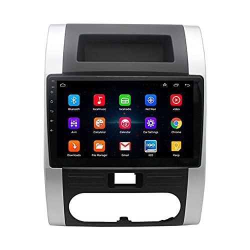 TIANDAO Android 10.0 Radio Satelital para Automóvil Reproductor Multimedia Autoradio 2.5D Navegador GPS para Nissan X-Trail 2008-2012 Soporte WiFi Bluetooth/Control del Volante(Color:WiFi 1G+16G)