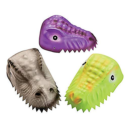 Child Molded Foam Dinosaur Hat for Party – Set of 12 – Birthday Party and Halloween Costume and Play