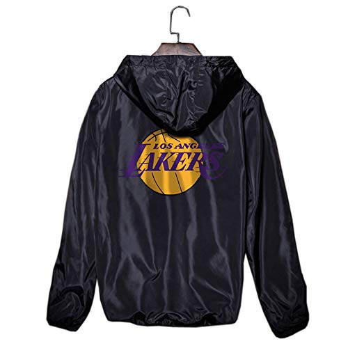 Lakers Kobe24 Trainingsanzug Hip Hop Sommer Sport Sonnencreme dünne Trenchcoat