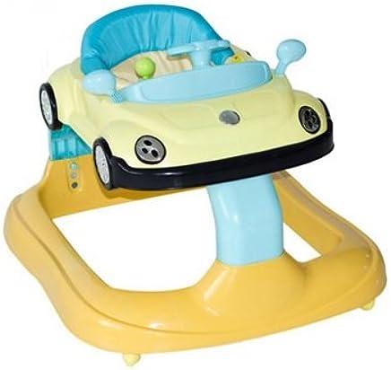 囡囝好 婴儿学步车多功能推车 儿童助步防侧翻学步车安全 650款 (黄色)