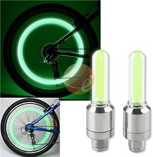LED Bike Wheel Lights, Neon Green 2 PCS by FIREFLYS