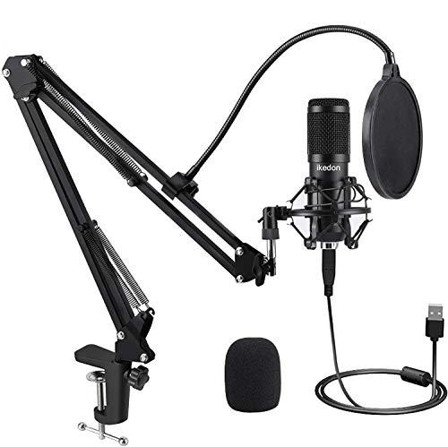 IKEDON USB Condenser Microphone