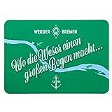 Werder Bremen Frühstücksbrettchen (one Size, Wo die Weser)