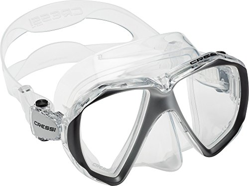 Cressi Liberty Duo Máscara de Snorkeling/Buceo, Adultos Uni