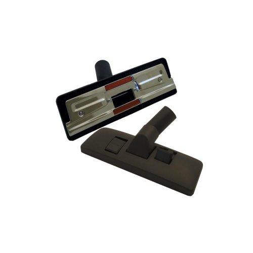 Europart 69-UN-99 - Bocchetta universale in plastica per pavimenti, di alta qualità, con doppio pedale, 32 x 270 mm, colore nero