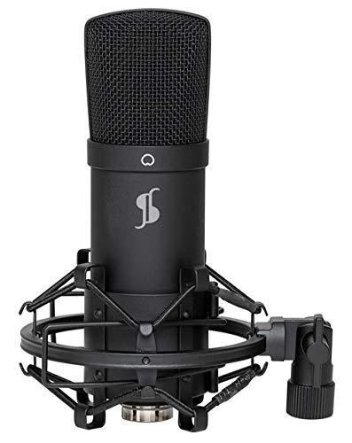 Stagg SRM75S Pro - Micrófono de Cinta estéreo (Vocal/Instrumental)