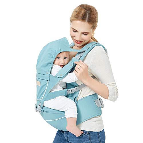 Bandoulière Taille bébé Quatre Saisons Banc d'absorption de Choc Amovible en Coton Multifonction Sac de Rangement Ceinture latérale ( Color : B )