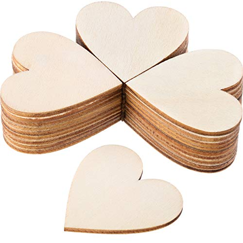 Heart wood slices
