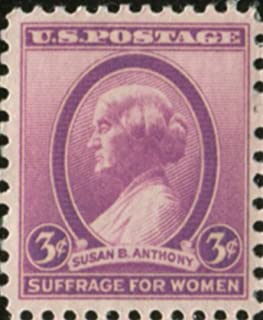 Single $.03 Cent US Postage Stamp, 1936 Susan B. Anthony, S#784.