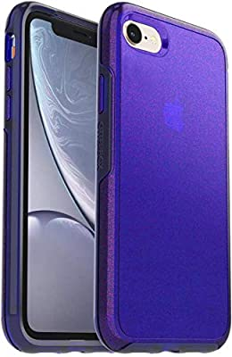 OtterBox Symmetry Series Slim Case for iPhone SE 2020, iPhone 8, and iPhone 7 (NOT Plus) - Bulk Packaging - Galactic