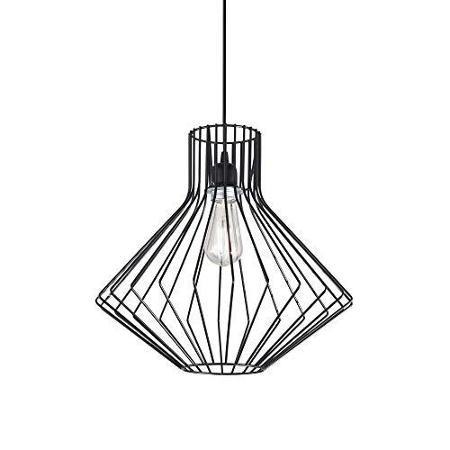 Ideal Lux Lampada a Sospensione AMPOLLA-4 Nera 167497