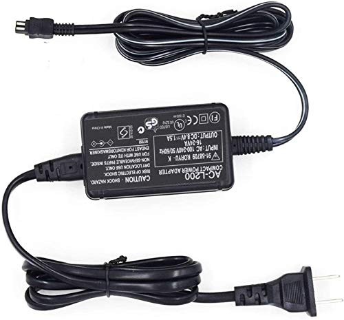 AC-L200 AC Power Adapter Charger for Sony Handycam DCR-SX40, DCR-SX41,DCR-SX44,DCR- SX45,DCR-SX60,DCR-SX63,DCR-SX65,SX83,SX85,DCR-SR42,DCR-SR45,DCR-SR46,DCR-SR47,DCR-SR68