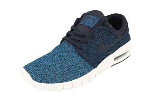 Nike Herren Stefan Janoski Max Skateboardschuhe, Blau (Industrial Blue Obsidian Photo Blue 444), 36 EU