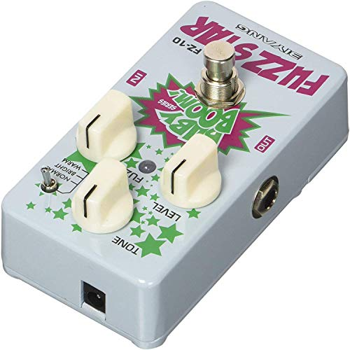 Distortion Pedal, Biyang Guitar Effects Fuzz BABY BOOM Series True Bypass Full Metal Shell 3 Mode Normal, Bright, Warm