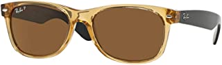 Ray-Ban RB2132 945/57 Honey Frame / Crystal Brown Polarized Lens 55mm