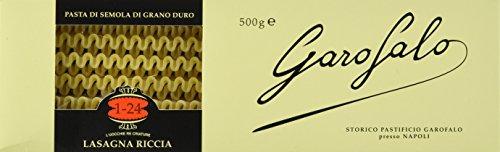 Garofalo Lasagne Riccia Platten , 3er Pack (3 x 500 g)