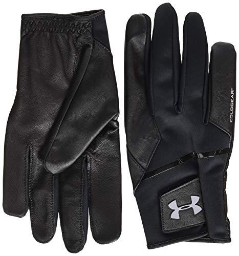 Under Armour Erwachsene ColdGear Golf Glove Handschuhe, Schwarz, X-Large