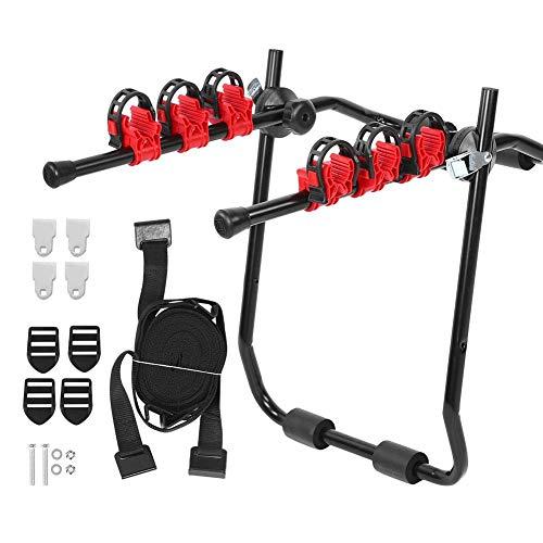 Keenso Auto Fahrradträger, TAR3603 Langlebiger Stahl Fahrradträger Fahrradträger Fahrradträger Anhängerkupplung Auto Heck Anhängerkupplung Zubehör