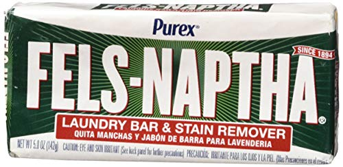 Fels Naptha Laundry Bar and Stain Remover, 5.0 Oz