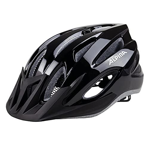 ALPINA MTB 17 Fahrradhelm, Black, 54-58 cm