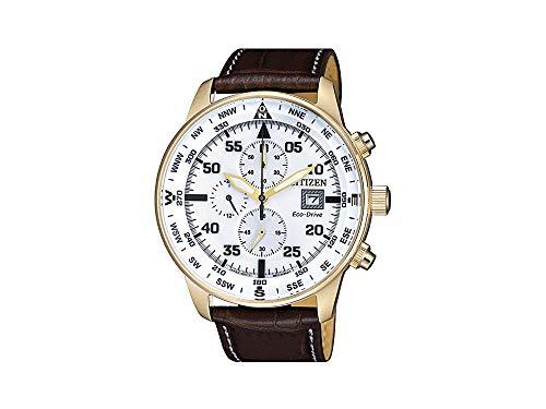 Citizen - Reloj cronógrafo de hombre - Colección Aviator Chrono CA0693-12A