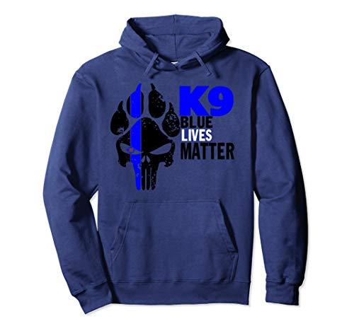 K9 Law Enforcement Canine Police Blue Live Matter Hoodie