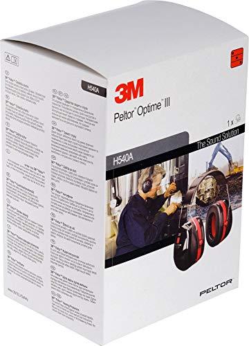 3M Peltor Optime III Kapselgehörschutz mit Kopfbügel, Hi-Viz, SNR 35 dB - 6