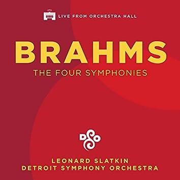 Brahms: The Four Symphonies (Live)