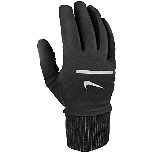 Nike Running Sphere Gloves Handschuhe (L, black/silver)
