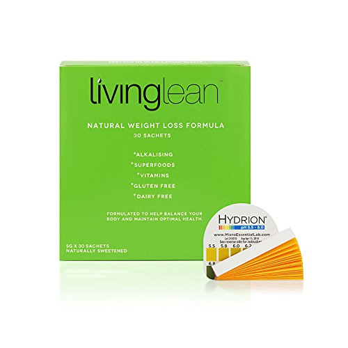 Living Lean Vegan Immunity Weight Loss Cleanse Kit Refill Pack -Natural...