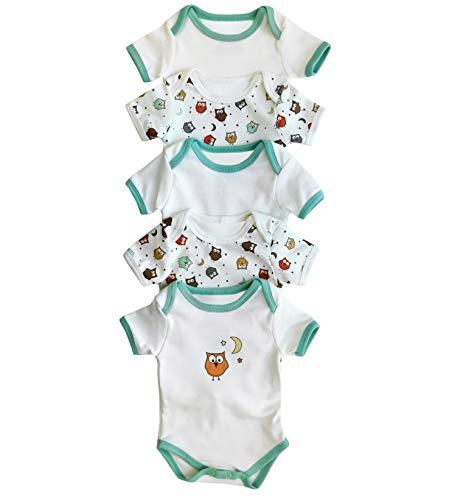 Slumberbaby Slumbersac mono del bebé búho de manga corta para 36 Meses vaca