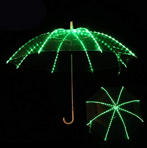 NANXCYR LED show paraplu buikdans paraplu kleurrijke verlichting display paraplu buikdans props Kerstmis Halloween Kerstmis