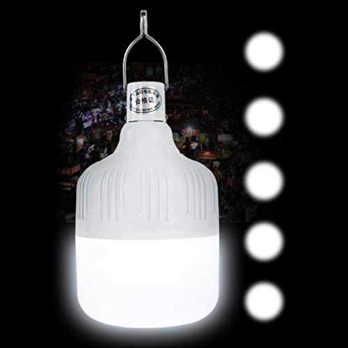 Uonlytech Lámpara de Parada Led Corte de Energía de Emergencia Carga Usb Luz de Parada a Prueba de Agua para Mercado Nocturno Calle Puesto Tienda Tienda de Camping Al Aire Libre