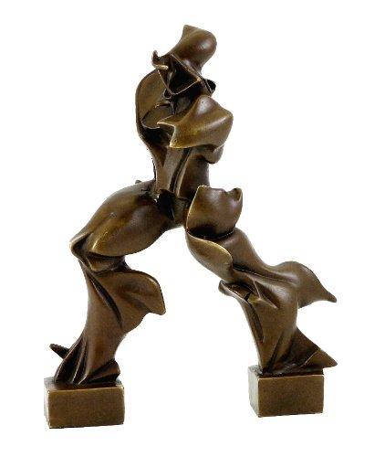 Kunst & Ambiente - Bronzefigur - Einzigartige Formen der Kontinuität im Raum - Umberto Boccioni Skulptur - signiert - Futurismus - Italien - Bildhauer
