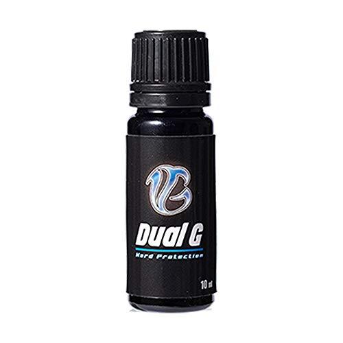 車 ガラスコーティング剤 Dual G デュアルジー 滑水 撥水 効果抜群 推奨適合車種:軽自動車・バイク・自転車...