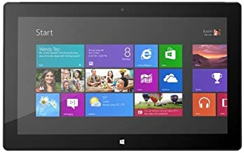 Microsoft Surface Pro 10.6-Inch Tablet P6T-002 Intel Dual-Core i5-3317U Processor, Dark Titanium (Renewed)