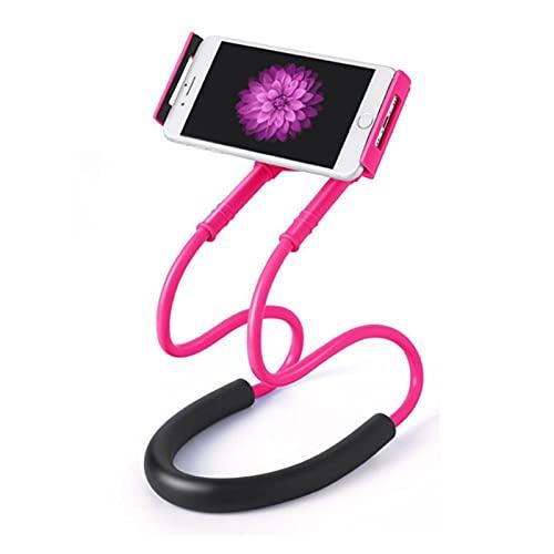 Baobaoshop Lazy bracket bed neck mobile phone holder Universal Mobile Phone Holder Lazy Mobile Phone Neck Mobile Phone Holder Universal mobile phone holder (Color : 02)