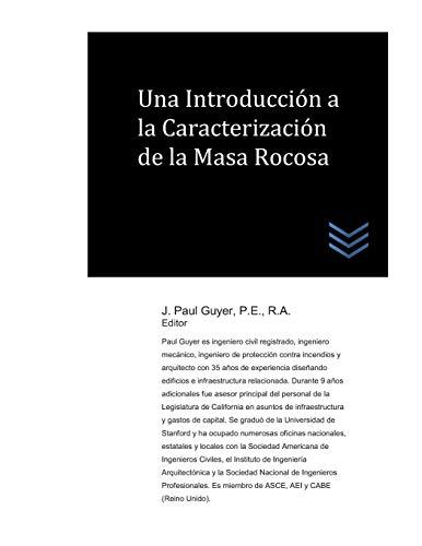 Una Introducción a la Caracterización de la Masa Rocosa (Spanish Edition)