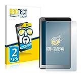 BROTECT Schutzfolie kompatibel mit Odys NoteTab Pro LTE 2-in-1 (2 Stück) klare Bildschirmschutz-Folie