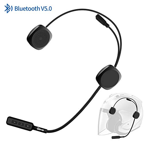 Buy Cheap Bluetooth Headset Motorcycle, Geva Helmet Bluetooth Headset with Flexional Mic Cord for Ha...