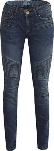 King Kerosin Pants Speedskinny Cordura Jeans Super Stone Blue-W34-L34