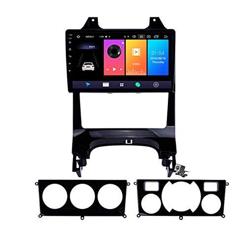 Estéreo para automóvil Android 9.0 Compatible con radio Peugeot 3008 2013-2018 Navegación GPS Pantalla táctil HD de 9 pulgadas Unidad principal Reproductor multimedia MP5 Video con 4G WiFi DSP SWC Vi