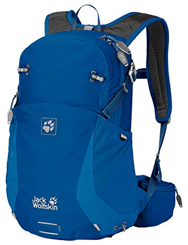 Jack Wolfskin Moab Jam 18 Outdoor Wander Rucksack, Electric Blue, ONE Size