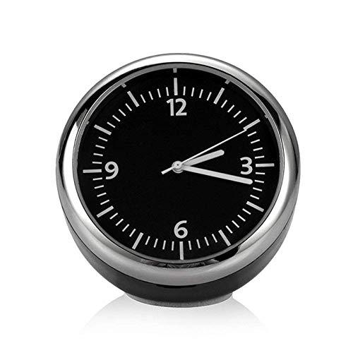 DBSCD Automechaniker Quarzuhr Mini Nachtleuchtende Uhr Digitaluhr im Auto Mini Auto Styling Kit