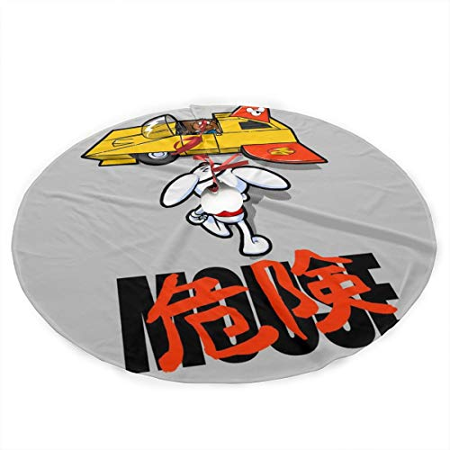 Danger Mouse Akira Penfold Flying Car Plush Fabric Christmas Tree Skirt 36 Inch Holiday Home Decor ,Soft, Light and Good to Touch