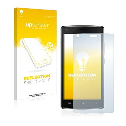 upscreen Entspiegelungs-Schutzfolie kompatibel mit Doogee X5 Max Pro – Anti-Reflex Bildschirmschutz-Folie Matt