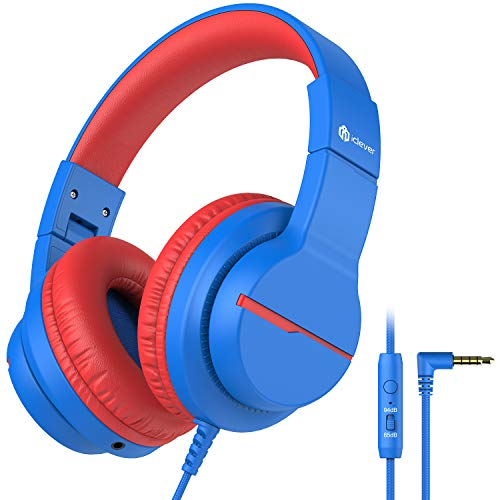iClever HS19 Kids Headphones with Microphone for...