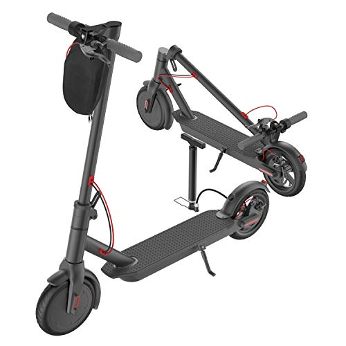 "PROMAX5 APP High Speed Electric Scooter for Adults with 350W Motor 8.5"" Solid Tires, Cruise Control and 1-Step Portable Folding Scooter for Commute and Travel"