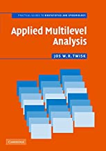 Best applied multilevel analysis a practical guide Reviews