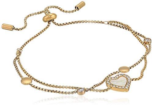 Fossil Women's Stainless Steel Gold-Tone Chain Bracelet